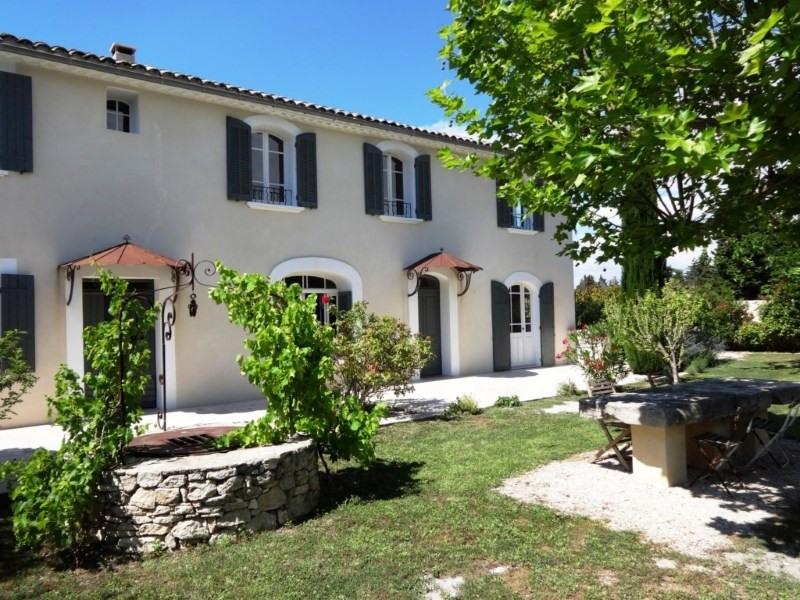 Vente de prestige maison / villa Le thor 720000€ - Photo 1