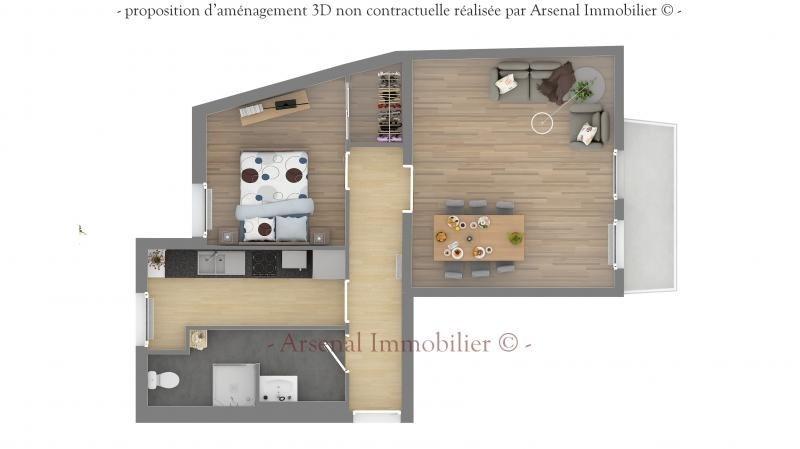 Verkoop  appartement Metz 119500€ - Foto 3