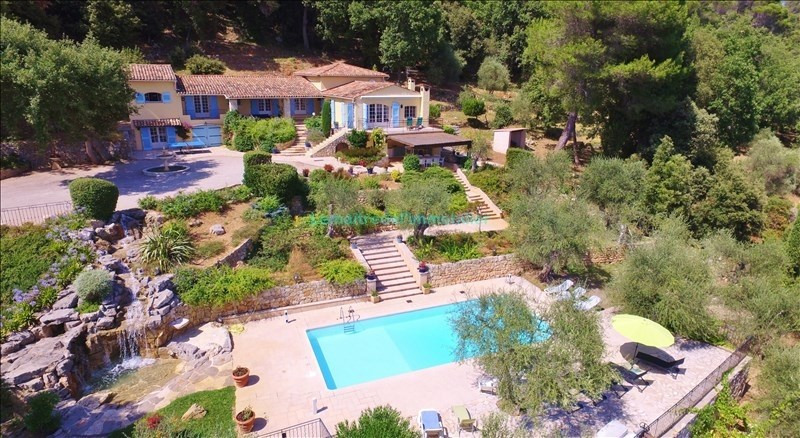 Vente de prestige maison / villa Le tignet 1090000€ - Photo 1