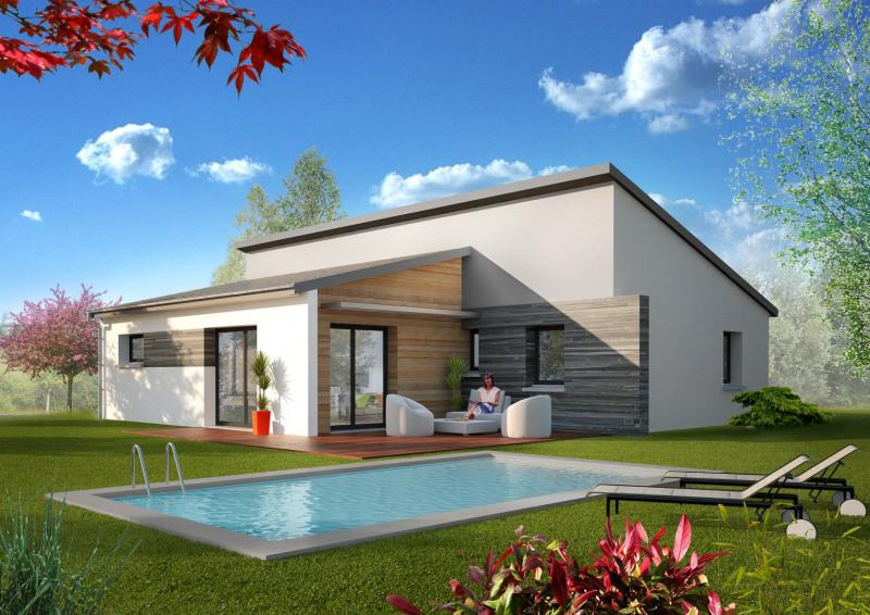 """Modèle de maison  """"Modèle de maison 4 pièces"""" à partir de 4 pièces Jura par MAISONS ROCBRUNE"""