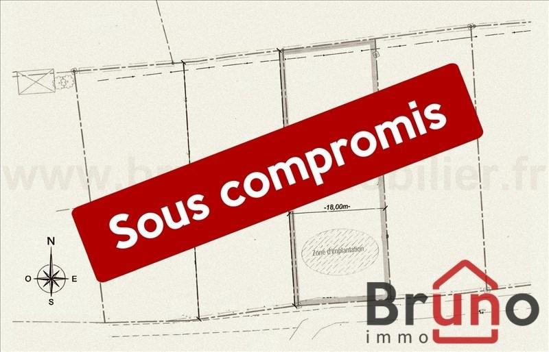 Verkauf grundstück St quentin en tourmont 87800€ - Fotografie 1