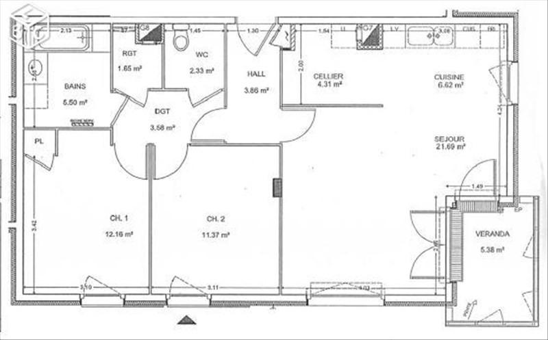 Venta  apartamento Annemasse 286000€ - Fotografía 6