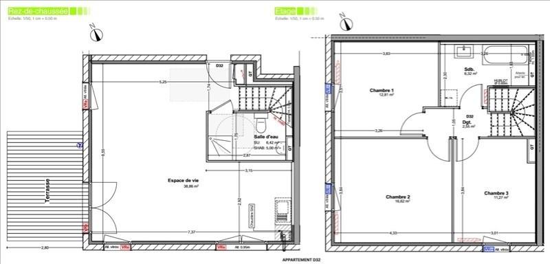 Sale house / villa Vetraz monthoux 444000€ - Picture 5