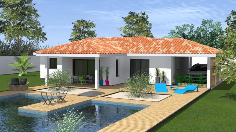 """Modèle de maison  """"Maison 4 pièces"""" à partir de 4 pièces Landes par MAISONS CONFORECO - AGENCE ST PAUL LES DAX"""
