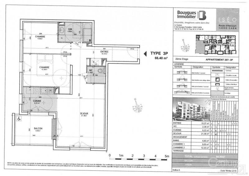 Alquiler  apartamento Caen 670€ CC - Fotografía 2