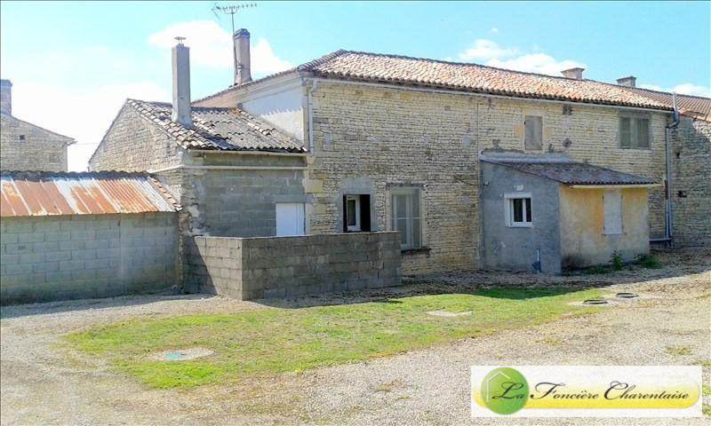 Vente maison / villa Aigre 123000€ - Photo 2