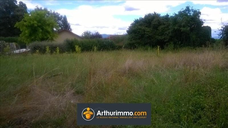 Vente terrain Morestel 76000€ - Photo 3