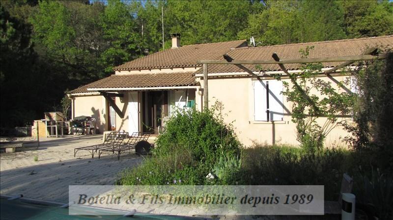Vente maison / villa Goudargues 267500€ - Photo 1