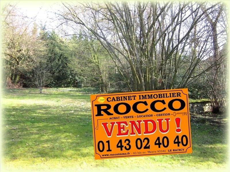 Vente terrain Villemomble 805000€ - Photo 1