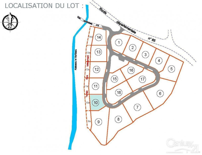 Vente terrain 14 58800€ - Photo 3