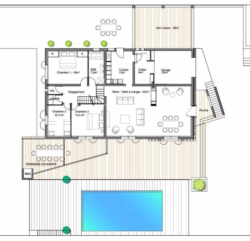 Vente de prestige maison / villa Montauroux 1339000€ - Photo 8
