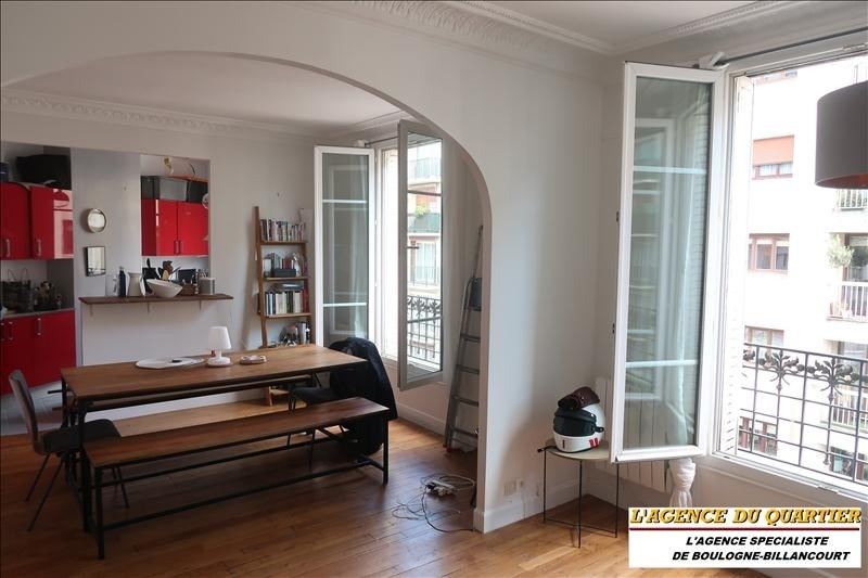 Rental apartment Boulogne-billancourt 1 550€ CC - Picture 1