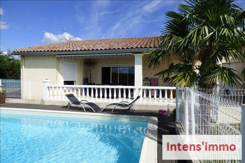 Sale house / villa Mours st eusebe 320000€ - Picture 1