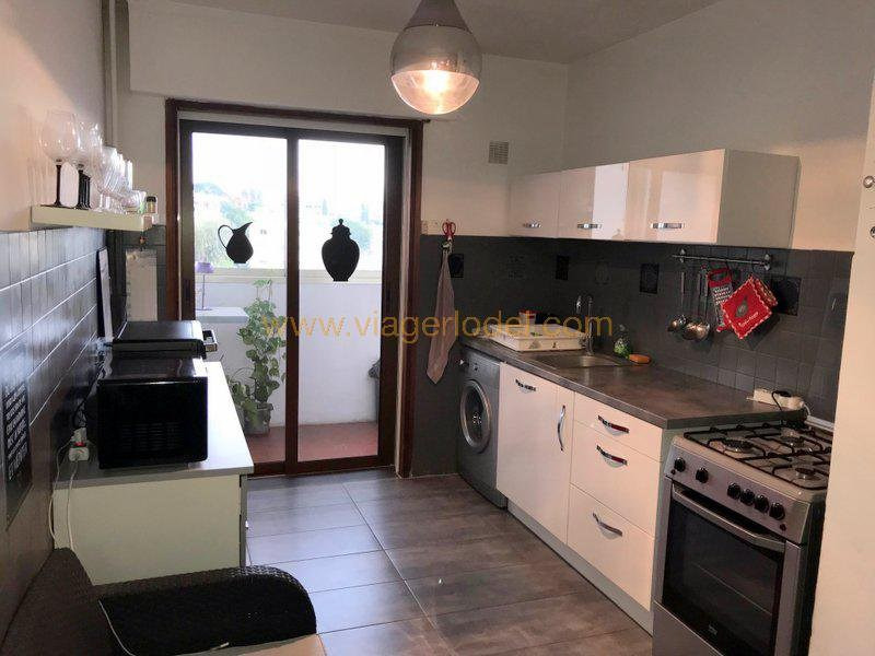 Life annuity apartment Cagnes-sur-mer 155000€ - Picture 8