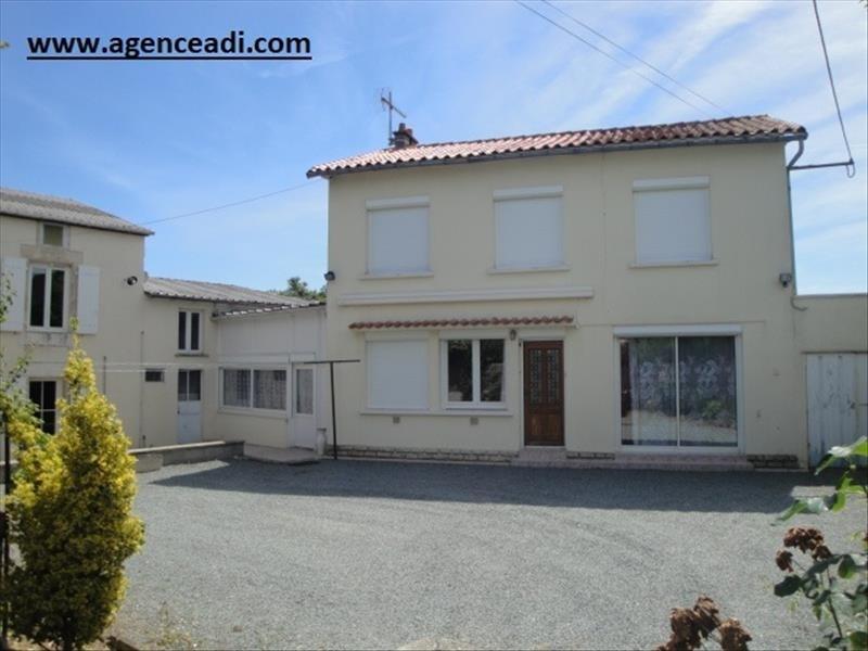 Vente maison / villa La creche 136000€ - Photo 1