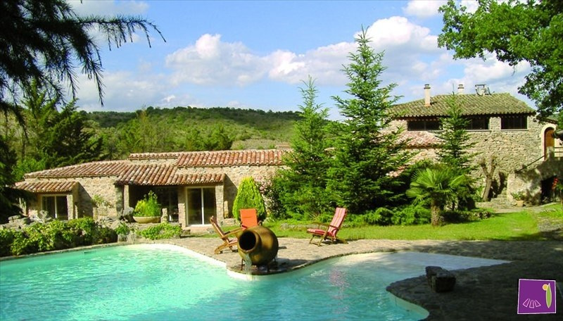 Vente de prestige maison / villa Barjac 740000€ - Photo 1
