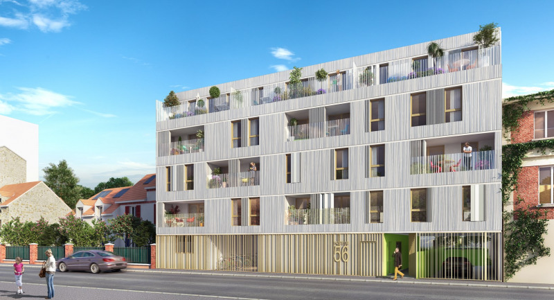 R sidence opaline programme immobilier neuf fontenay sous for Immobilier neuf idf