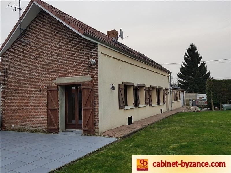 Sale house / villa Beauvois en cambresis 163200€ - Picture 1