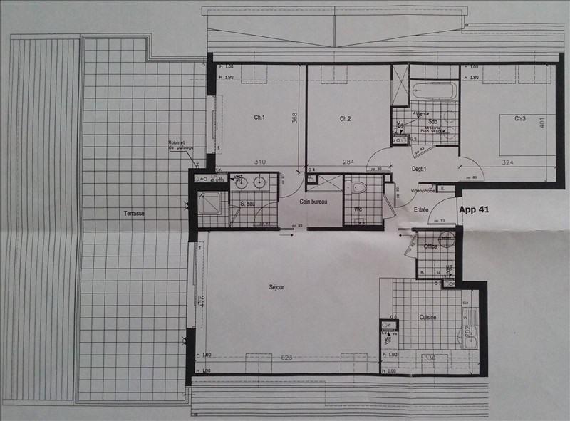 Sale apartment Nanterre 700000€ - Picture 3