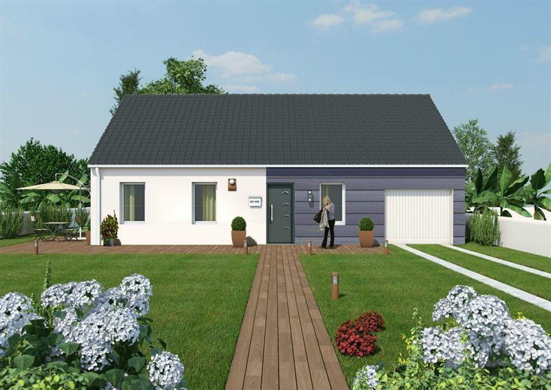 Maison  4 pièces + Terrain 311 m² Brouilla par MAISONS COTE SOLEIL