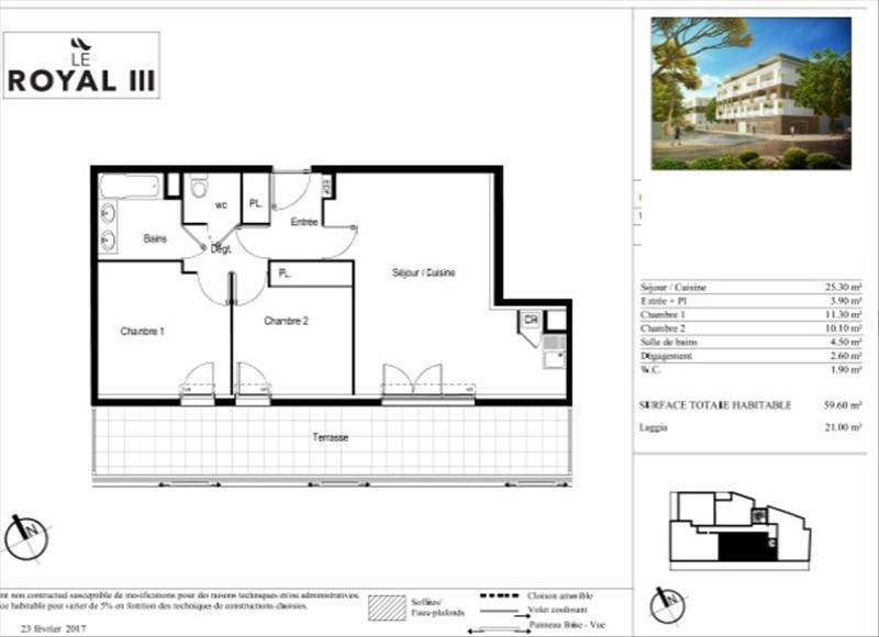 Vente appartement Montpellier 266000€ - Photo 4