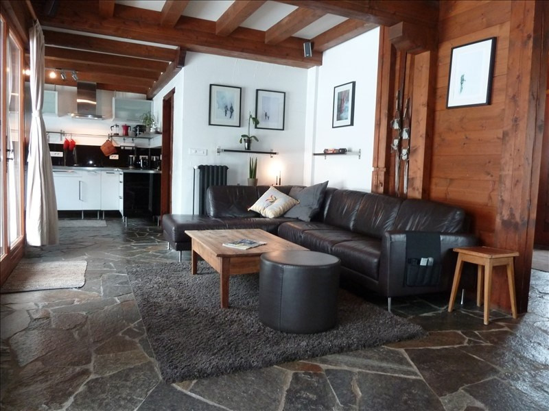 Vente de prestige appartement Les houches 795 000€ - Photo 4