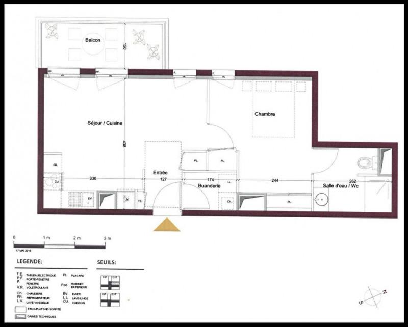 Sale apartment Le teich 192000€ - Picture 1
