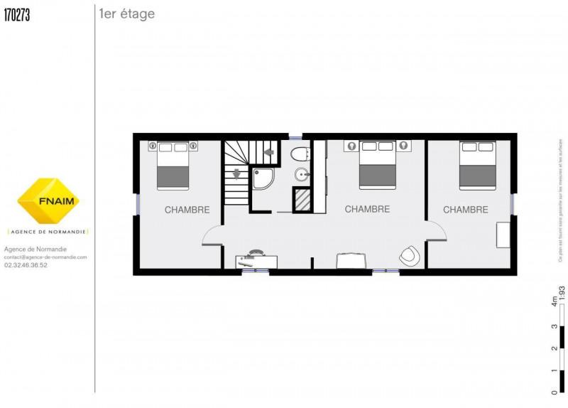 Sale house / villa La ferte-frenel 160000€ - Picture 7