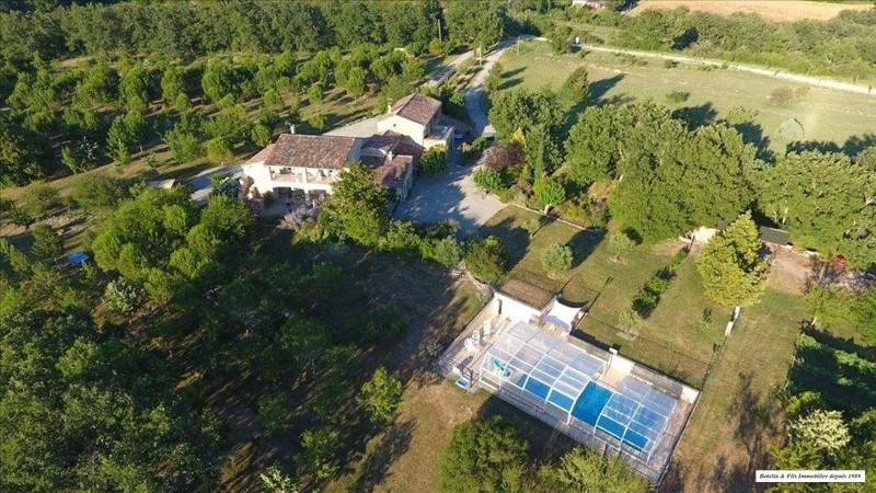 Verkoop van prestige  huis Barjac 798000€ - Foto 1