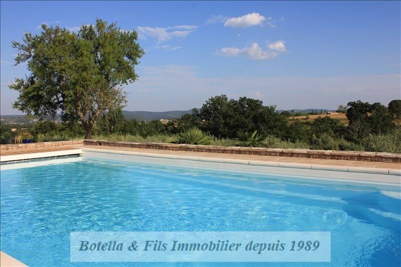 Deluxe sale house / villa Barjac 695000€ - Picture 2