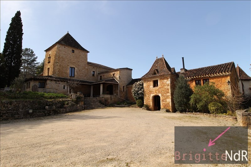 Deluxe sale house / villa Puy l eveque 1470000€ - Picture 1