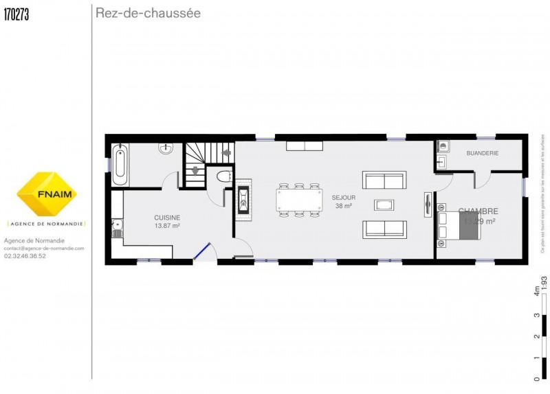 Sale house / villa La ferte-frenel 160000€ - Picture 3