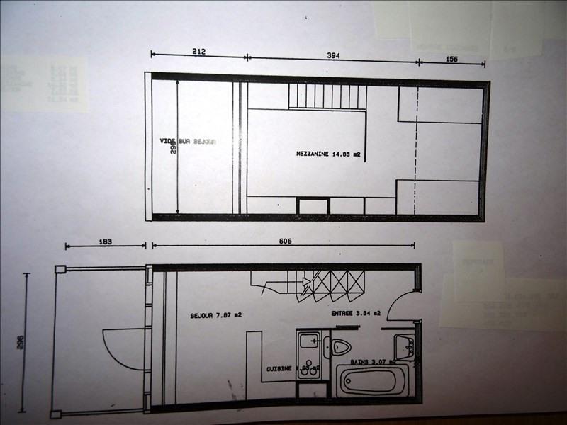 Vente appartement Les arcs 152000€ - Photo 5