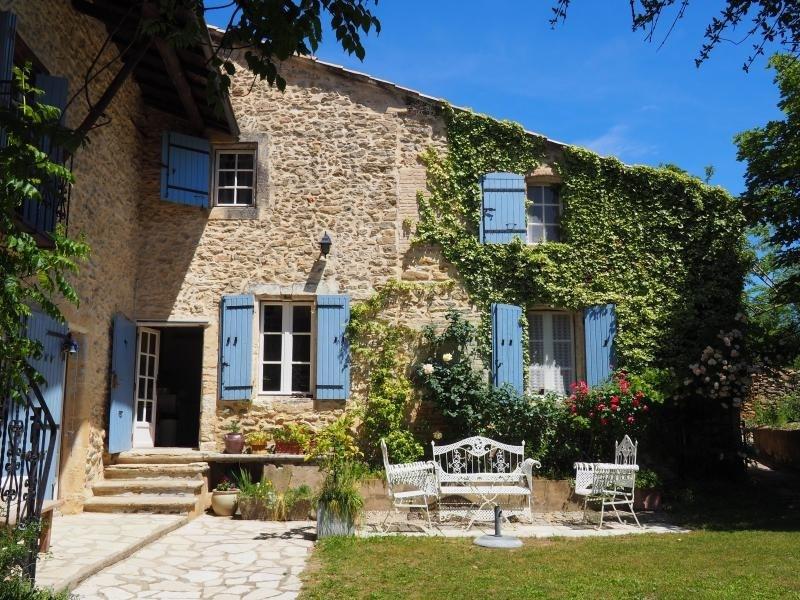 Immobile residenziali di prestigio casa Goudargues 550000€ - Fotografia 3