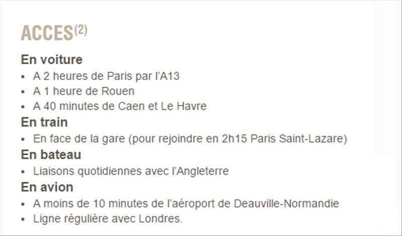Revenda casa Deauville 718283€ - Fotografia 9