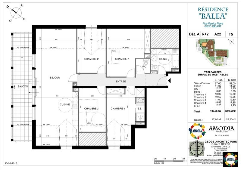 Deluxe sale apartment Bidart 586000€ - Picture 1