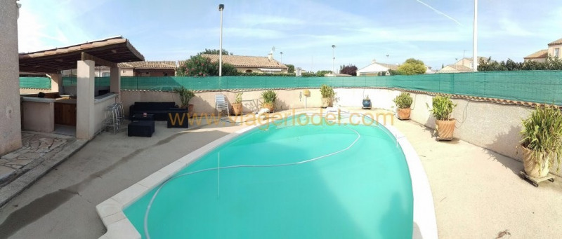 Life annuity house / villa Montady 65 000€ - Picture 1