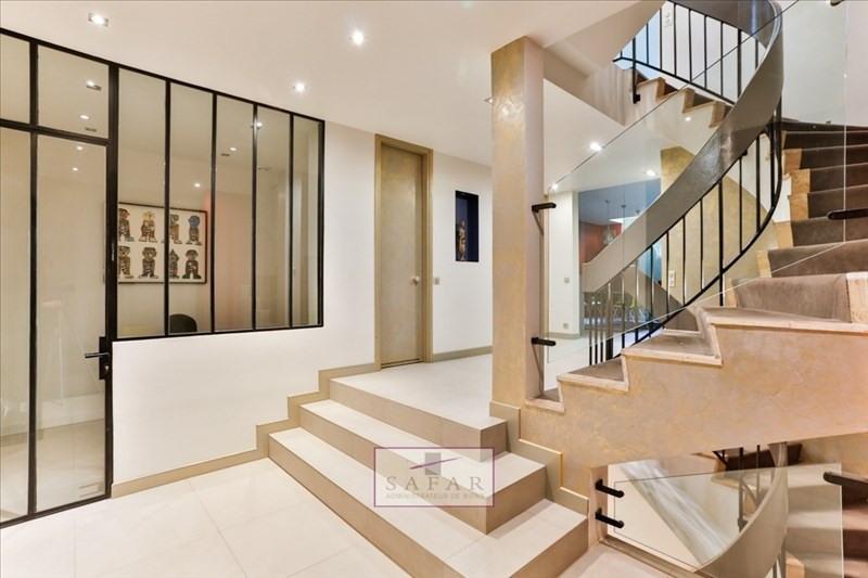 Vente de prestige appartement Paris 16ème 2180000€ - Photo 2