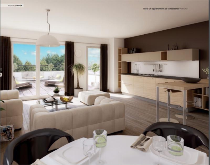 Venta  apartamento Metz 143500€ - Fotografía 3