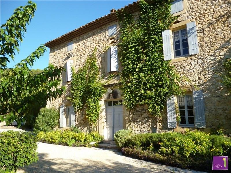 Deluxe sale house / villa Uzes 695000€ - Picture 1