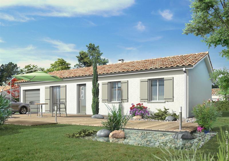 Maison  5 pièces + Terrain 750 m² Pissos par LES MAISONS LCA MONT DE MARSAN