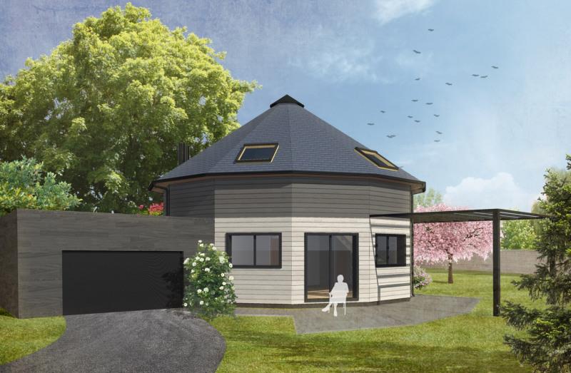 """Modèle de maison  """"Maison contemporaine 4 pièces"""" à partir de 4 pièces Maine-et-Loire par LA MAISON DE CEDRE - AGENCE GRAND OUEST"""