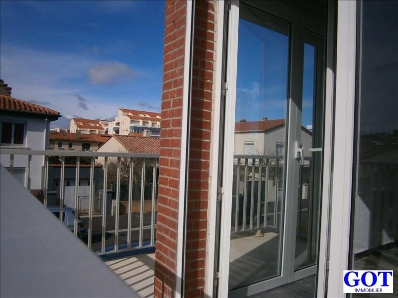 Rental apartment Le barcares 580€ CC - Picture 1