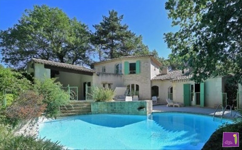 Deluxe sale house / villa Uzes 664 000€ - Picture 1