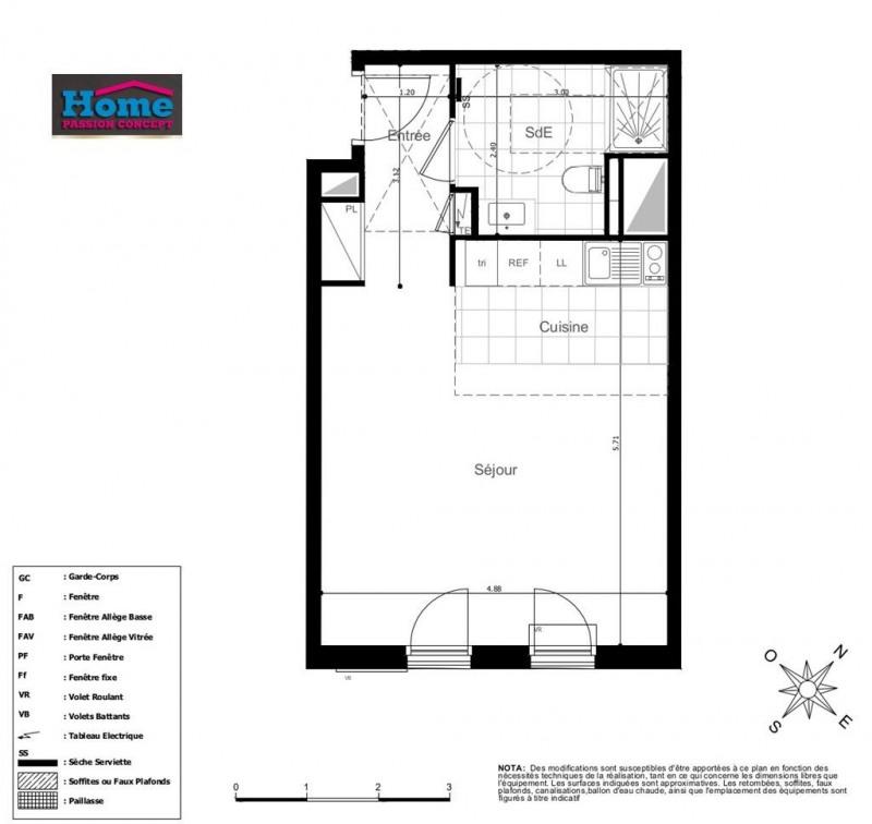 Vente appartement Rueil malmaison 306000€ - Photo 1