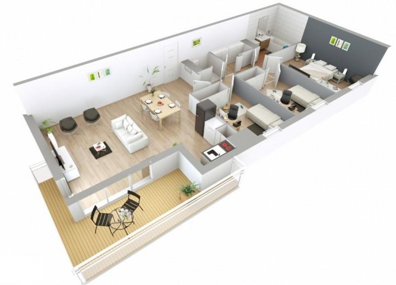 Sale apartment Lyon 8ème 349000€ - Picture 1