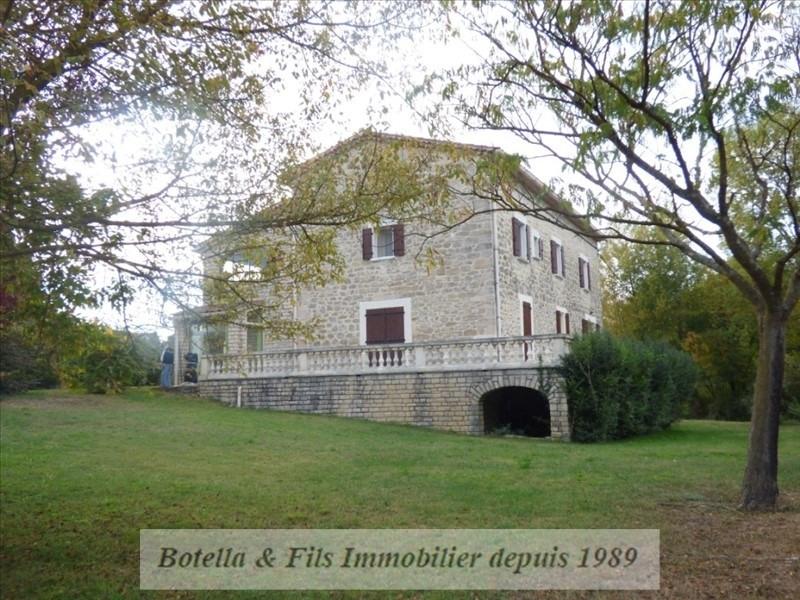 Vente maison / villa Barjac 545000€ - Photo 2