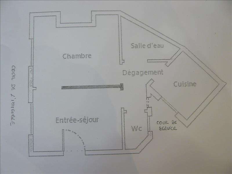 Revenda apartamento Paris 6ème 446250€ - Fotografia 9