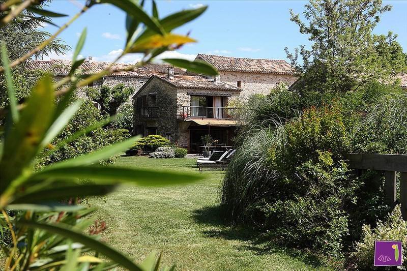 Deluxe sale house / villa Barjac 425000€ - Picture 1