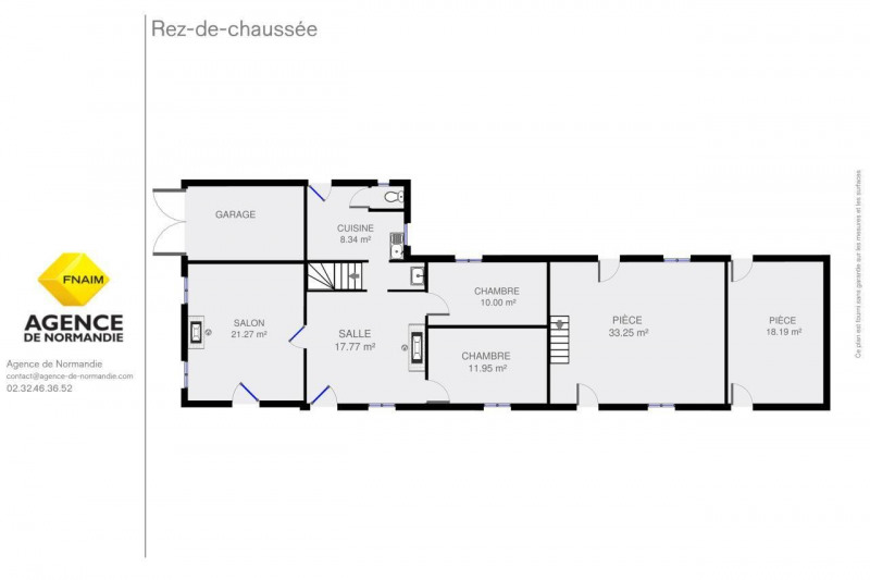 Vente maison / villa Montreuil-l'argille 69000€ - Photo 2